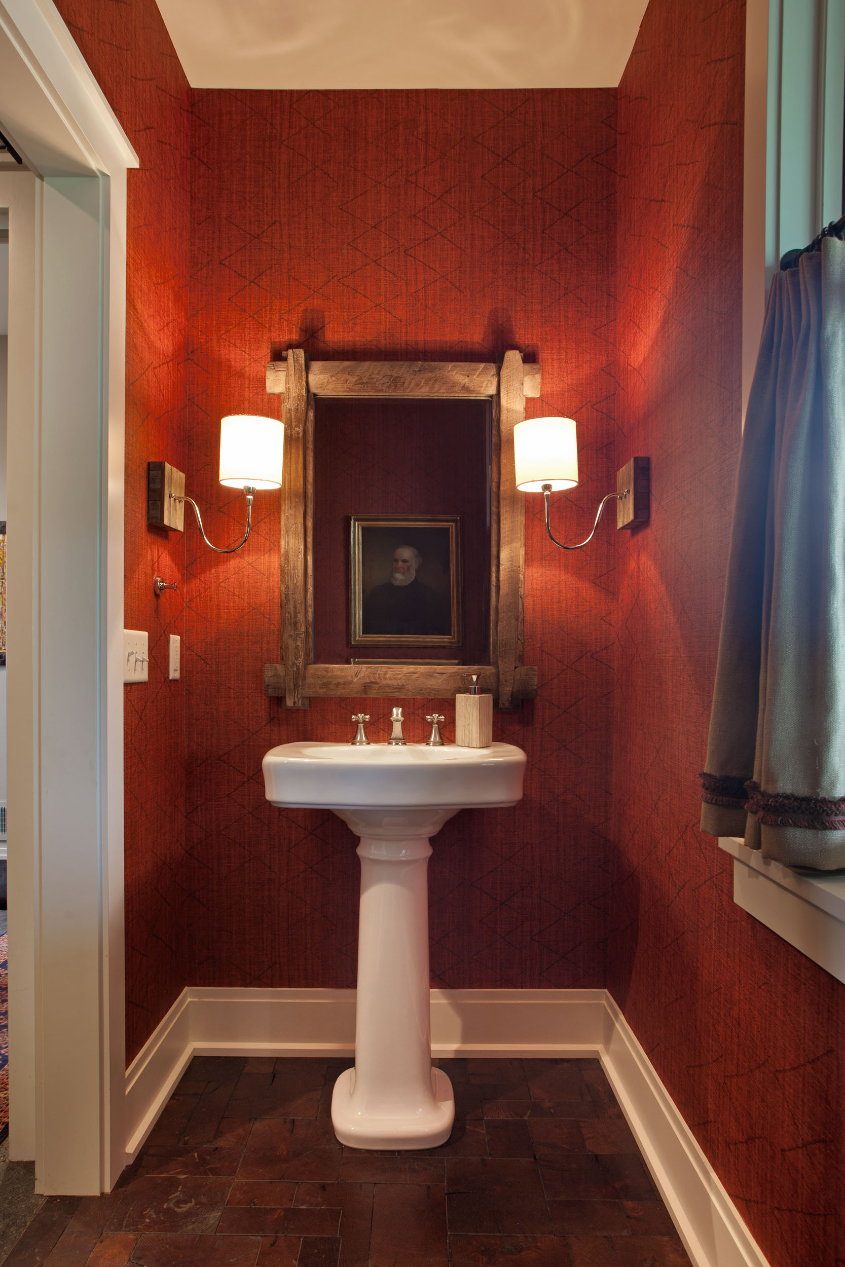 Modern Farmhouse Powder Room
