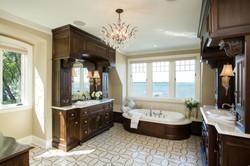 Lake Home Master Bath Image