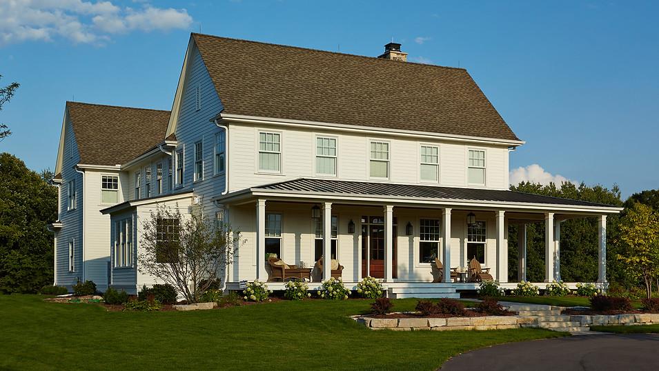 Greek Revival Farm House