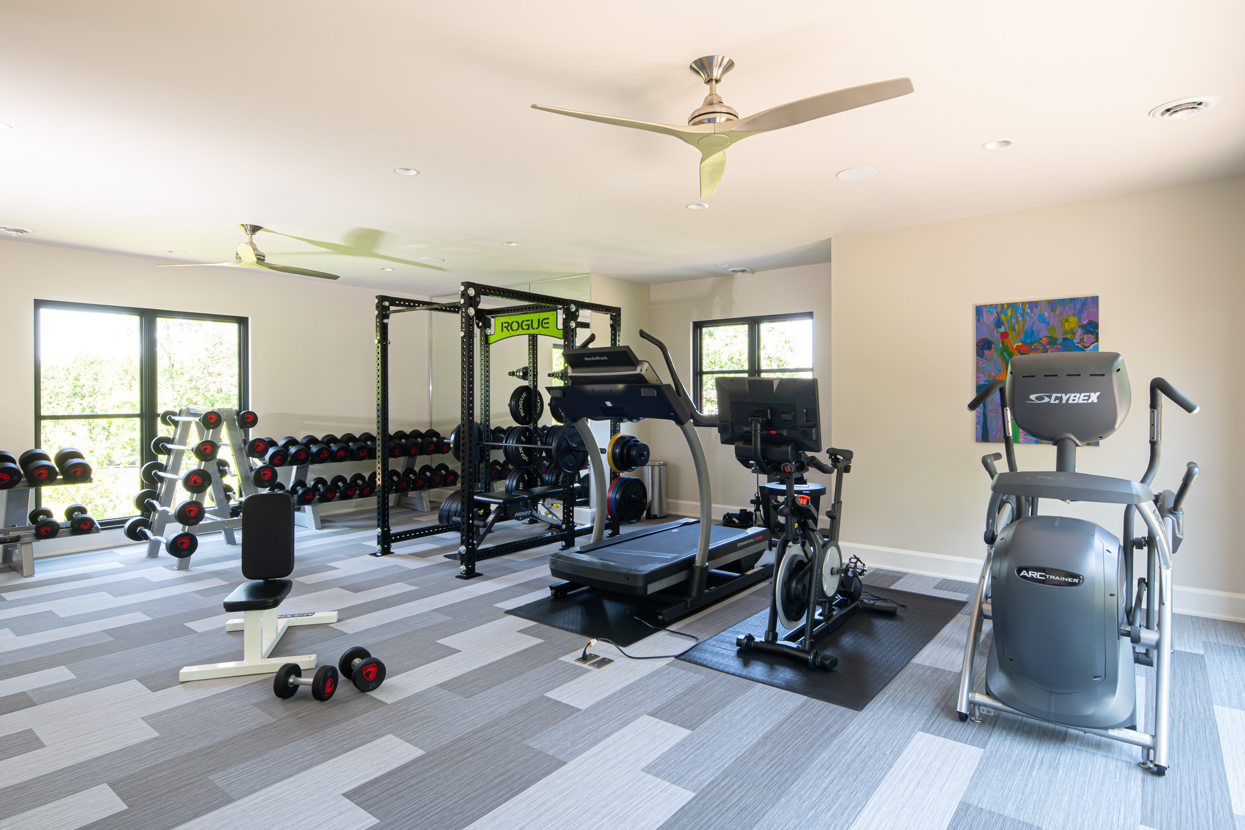Modern Rustic - Home Gym