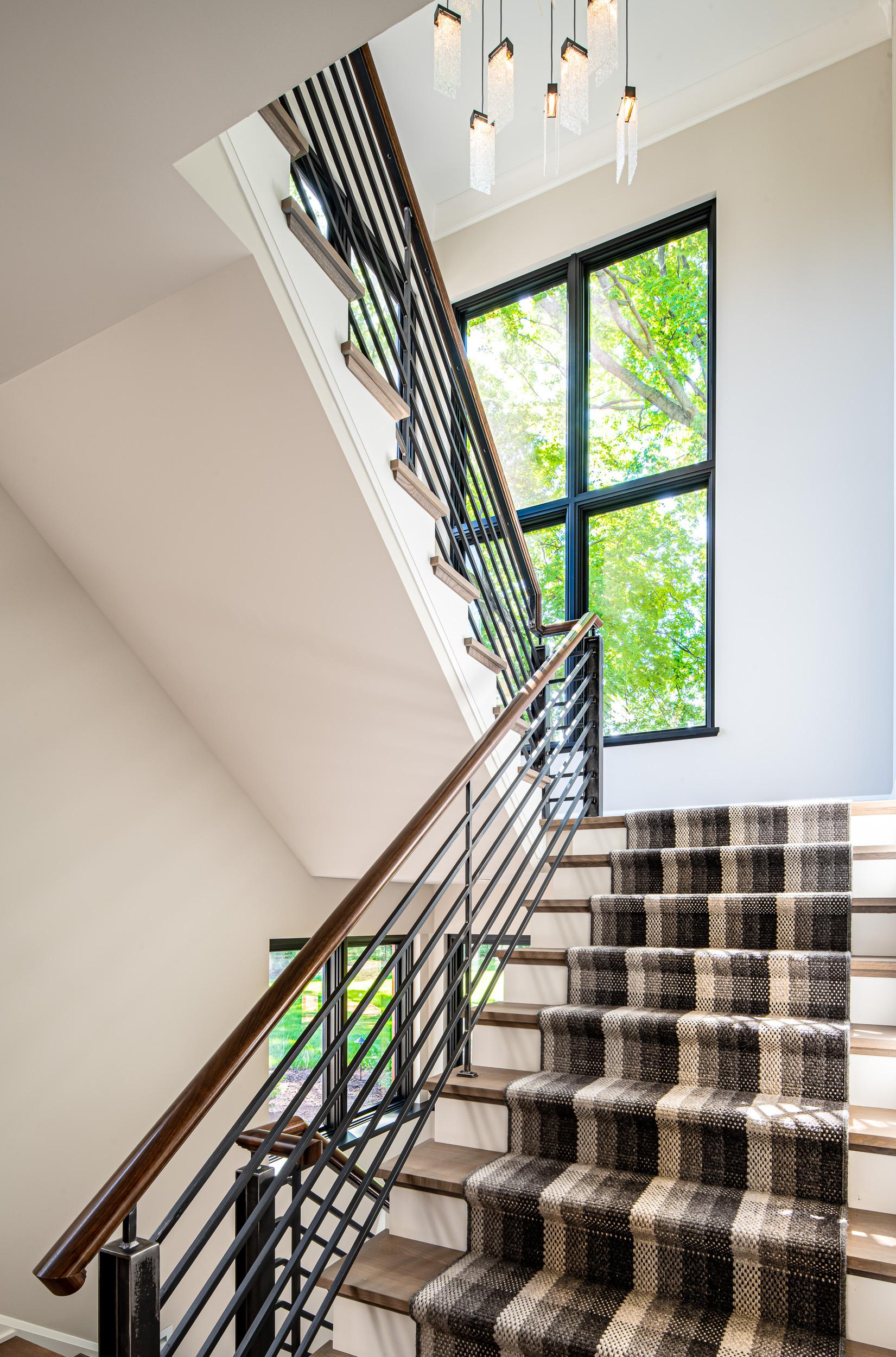Modern Rustic - Stairs