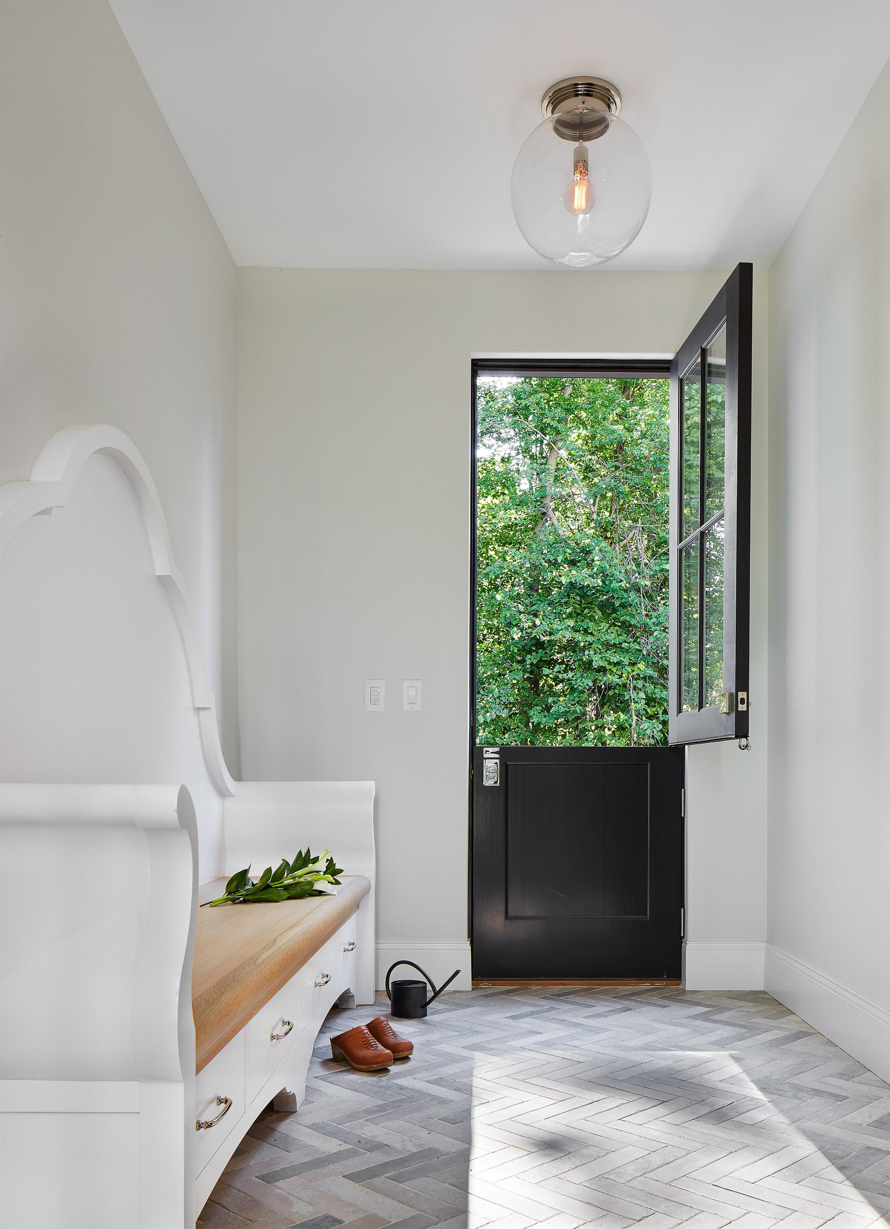Mud Room with Dutch Door