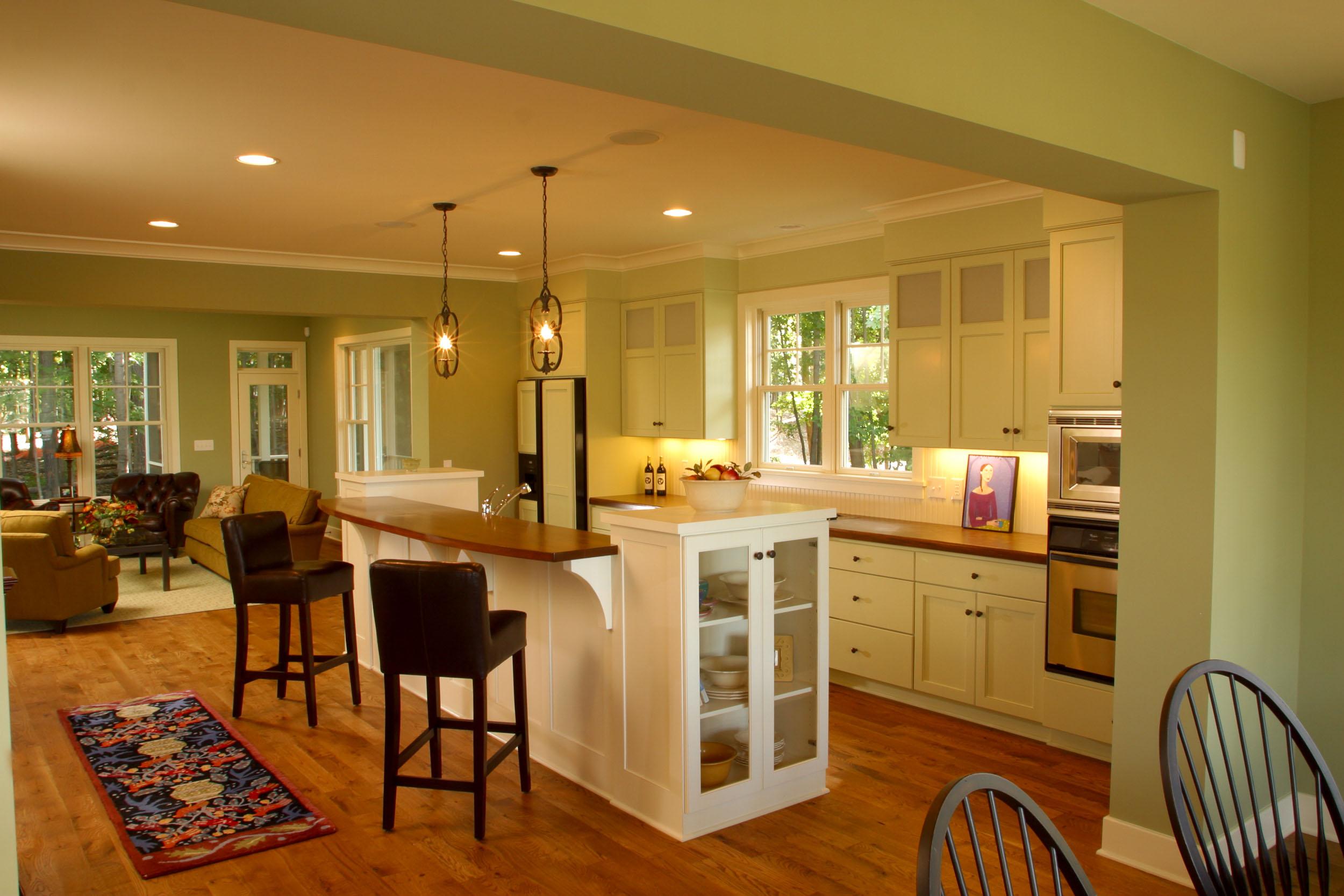 Modern Cottage Kitchen Image