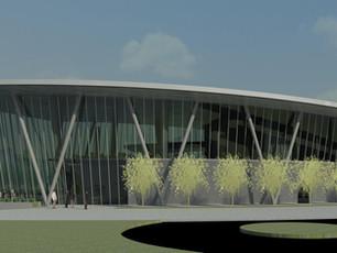 Paper Architecture - Dream Island Welcome Center