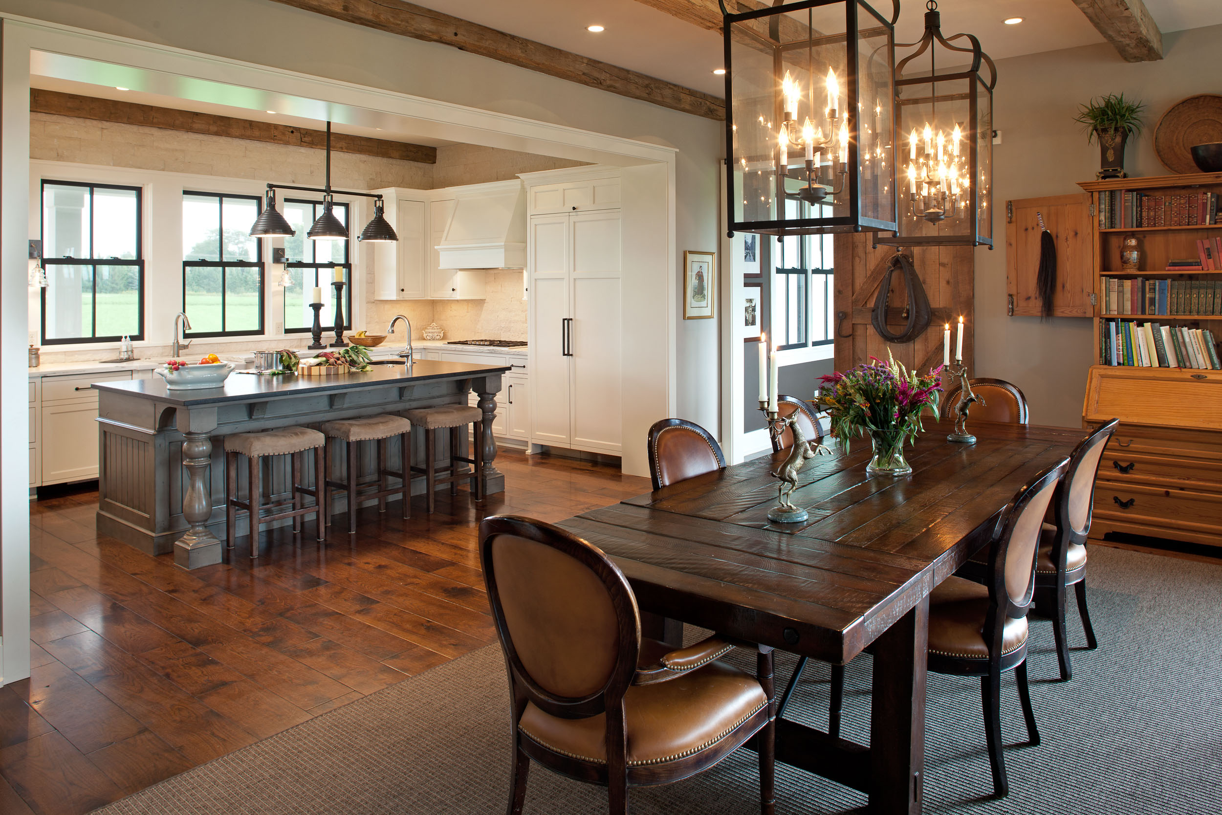 Modern Farmhouse Kitchen and Dining