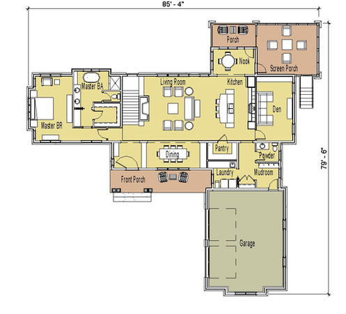 Somerset Ranch House Plan