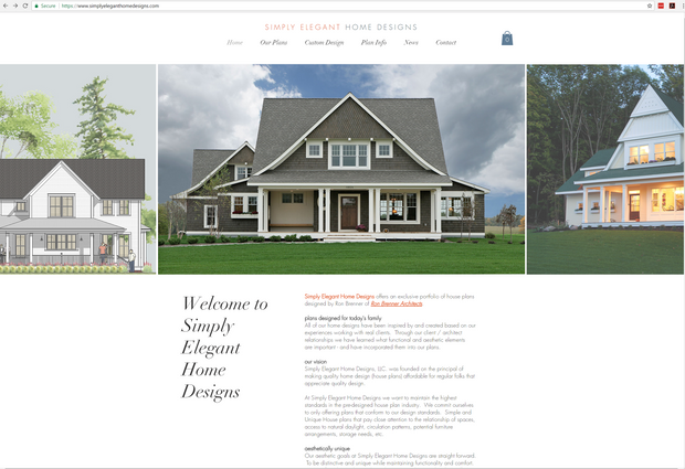 New Web and Blog Site for Simply Elegant Home Designs