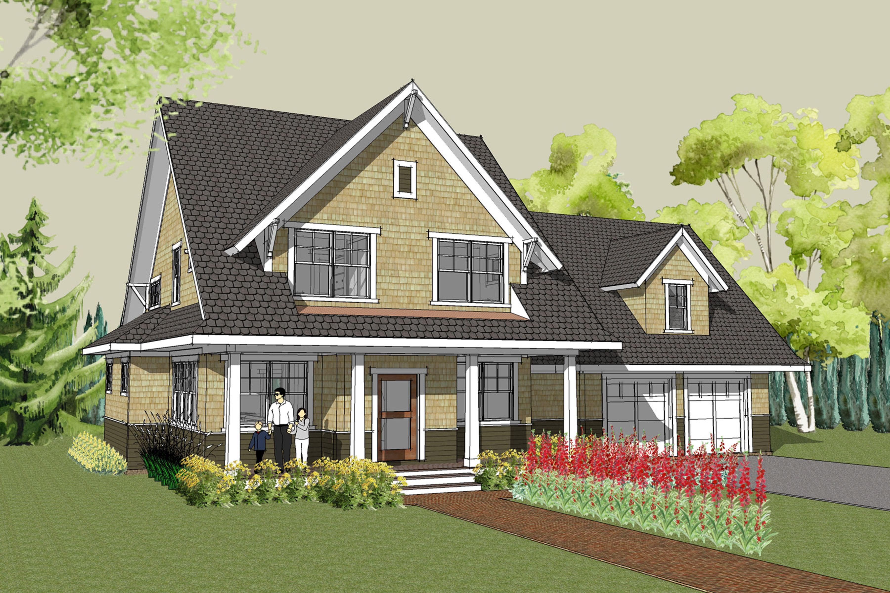 Stillwater Craftsman House Plan