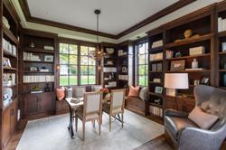 Orono Artisan Home Library Image