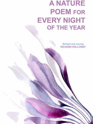 Re-imagined book cover for 'A Nature Poem for Every Night of the year'