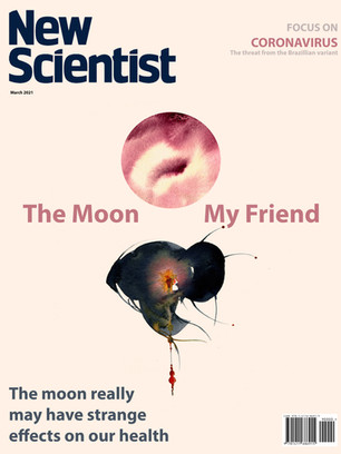 Re-imagined cover for New Scientist magazine