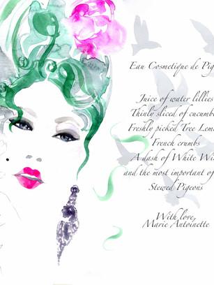 Marie Antoinette Beauty Secret