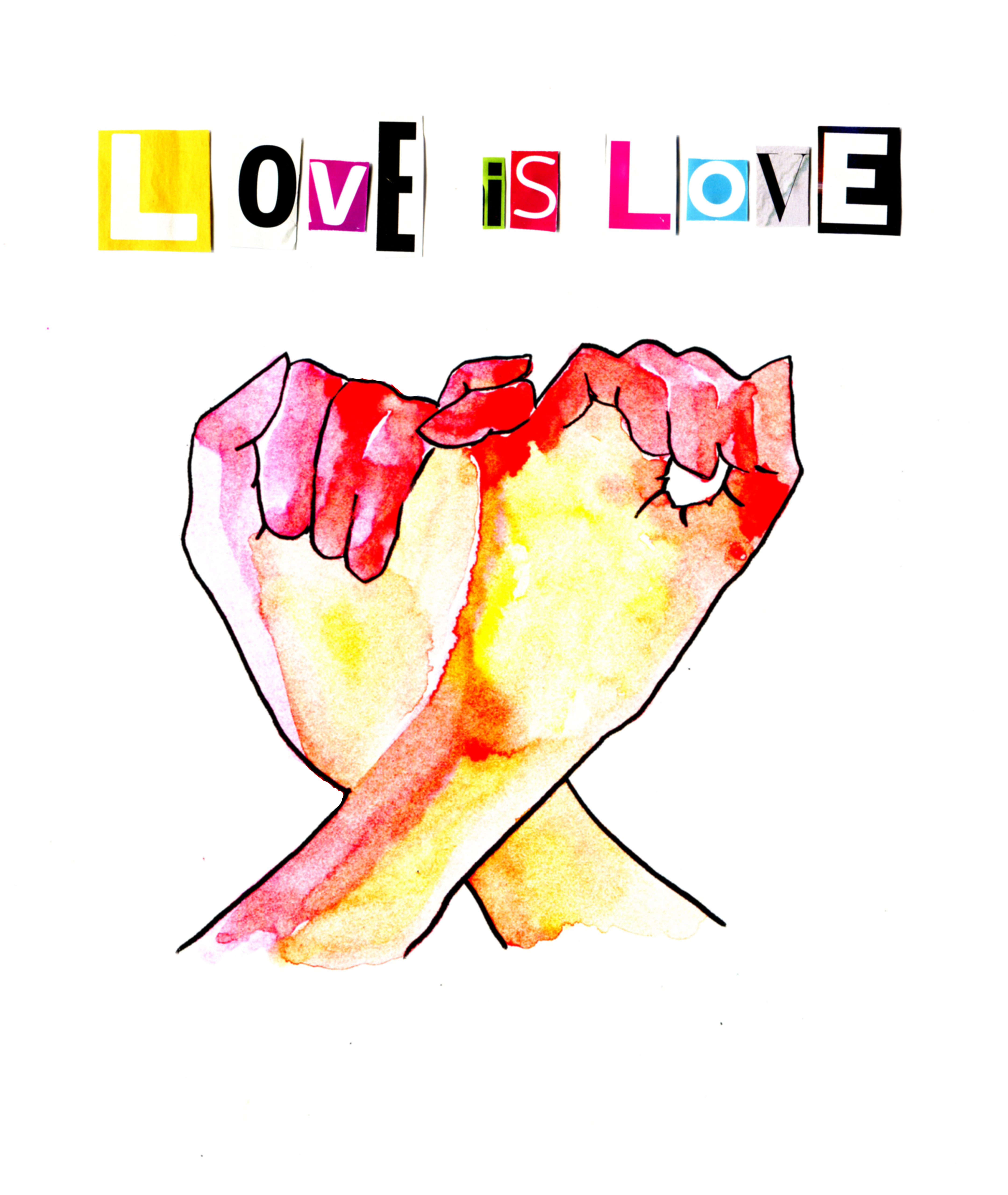 Love is Love Hands Sign