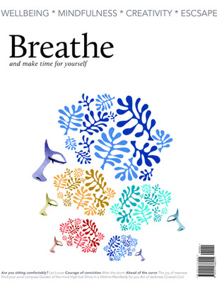Re-imagined cover for Breathe magazine