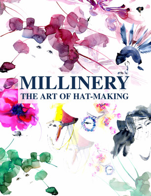 Re-imagined book cover for MILLINERY - The art of Hat-Making