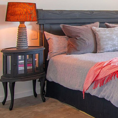 Tea table bedsides with books (swipe for