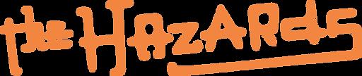 The Hazards logo horiz_salmon.png