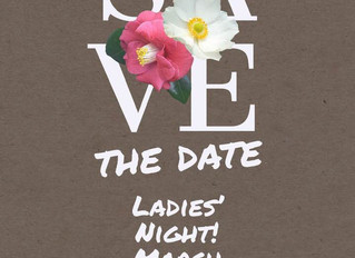 Ladies' Night, Monday, March 25th