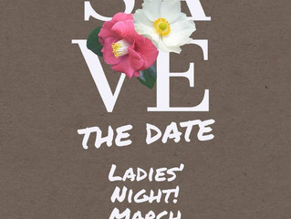 Ladies' Night, Monday, March 25th