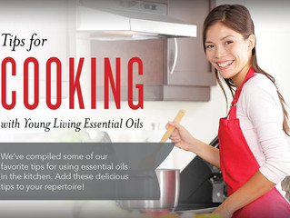 Our Monday's Make and Take! Cooking with Oils