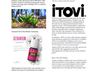 March News at the Detox Shop and Spa!