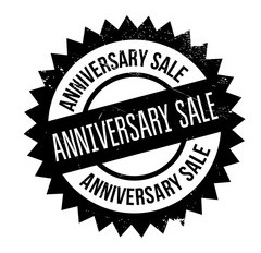 Our 1st Year Anniversary Sale is next month!