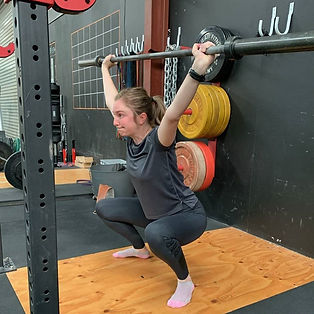 Overhead Squat Strength and Conditioning