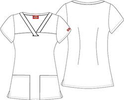 Filipina Dickies Medical 84724CB
