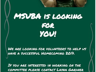 2017 Homecoming MSUBA Stand and Deliver - October 20 - 22, 2017