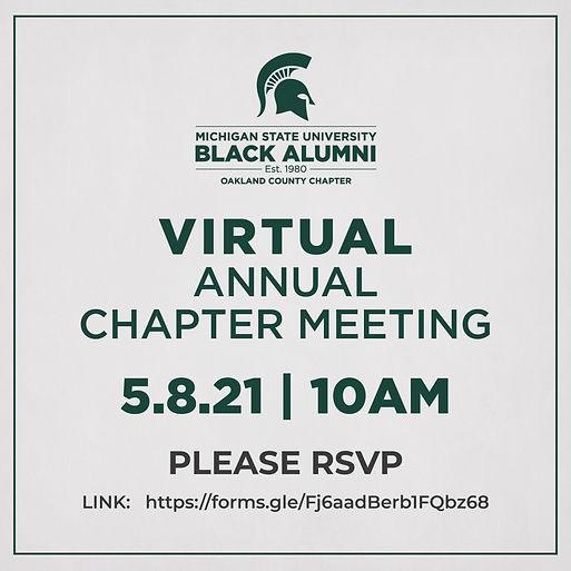MSUBAOC Virtual Annual Chapter Meeting F