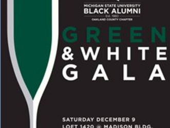 MSUBA Oakland County Chapter presents the inaugural Green & White Gala