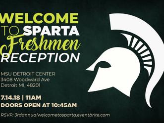 Welcome To Sparta Freshmen Reception