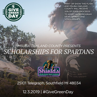 Spartans for Scholarships: Giving Tuesday Event