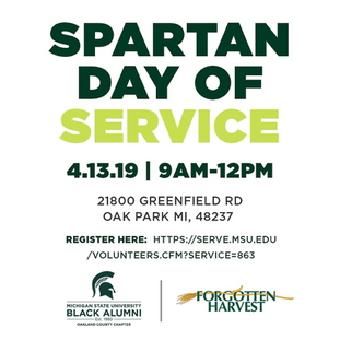 Spartan Day of Service at Forgotten Harvest & South Oakland Shelter - 4.13.19