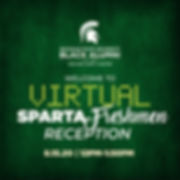 MSUBAOC Welcome to Sparta Reception 2020