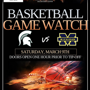 MSU vs. U of M Watch Bball Party at Visions Bar - 3.9.19
