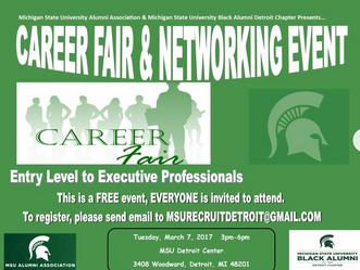 MSUBA Career Fair - March 7, 2017