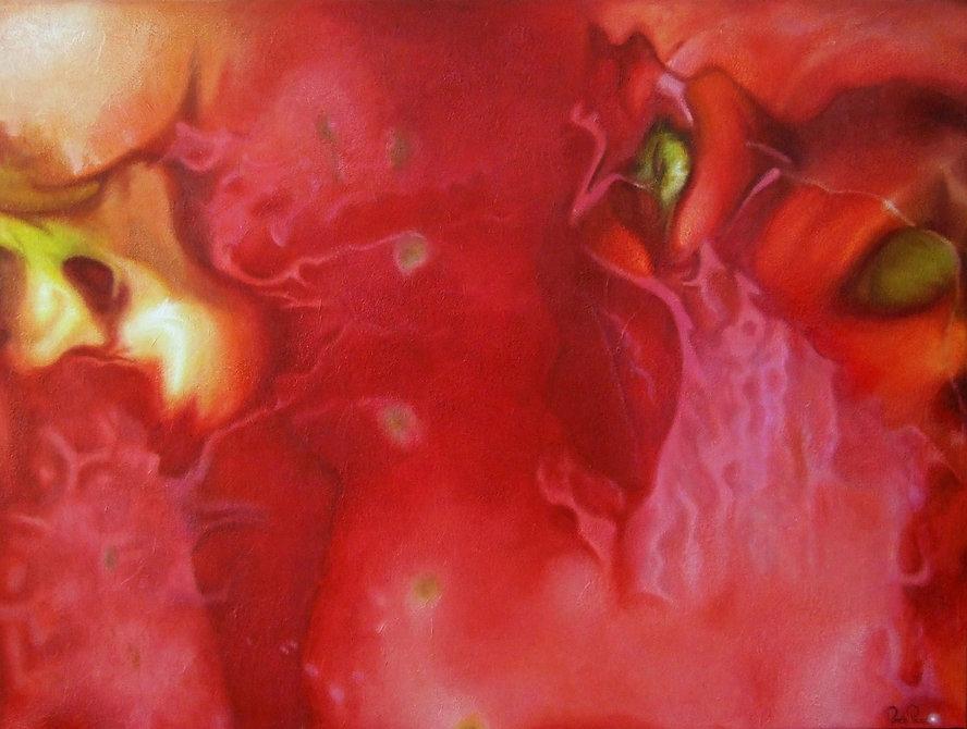 La traversée, oeuvre contemporaine abstraite