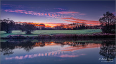 Blue Hour at Corby Boating Lake