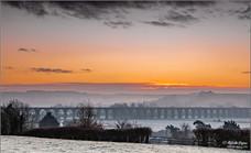 Harringworth Viaduct from Seaton, Rutland
