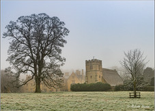 Great Oakley Hall and Church, Northamptonshire