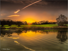 Sunrise at Corby Boating Lake Northamptonshire