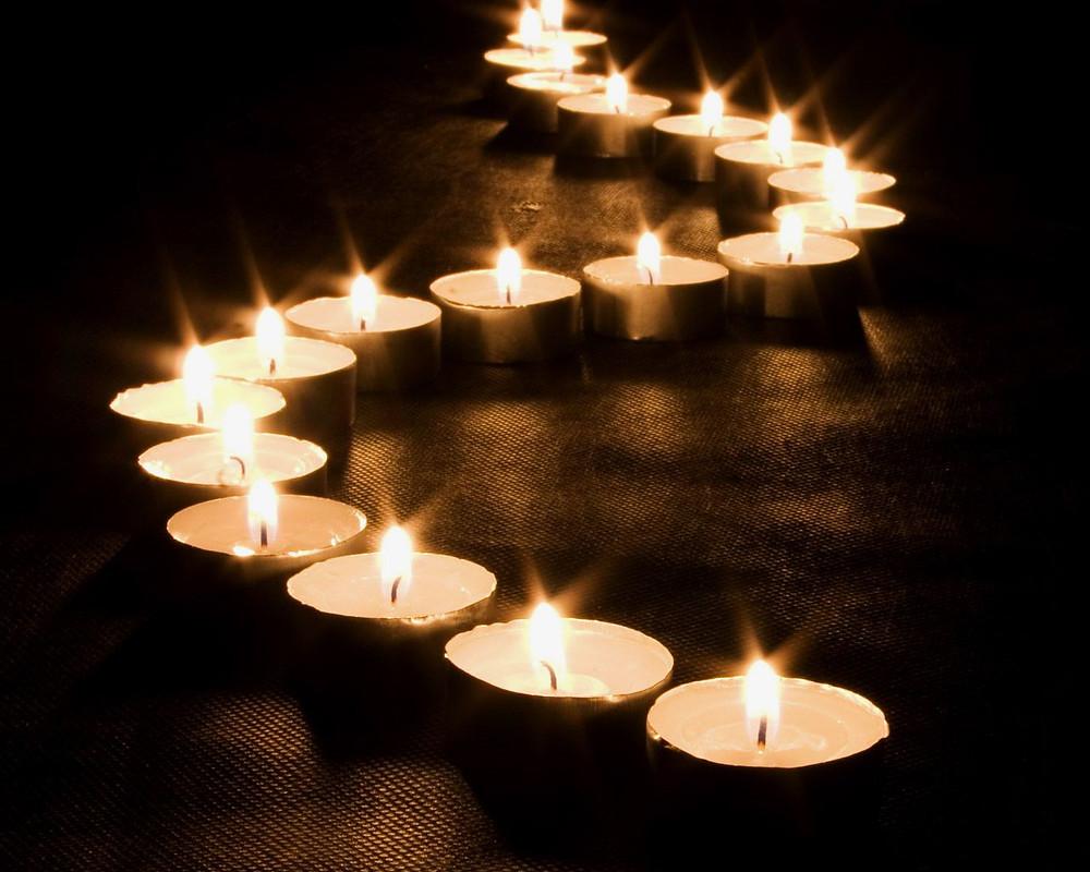 Lighted Path,