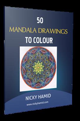 50 Mandala Drawings to Color
