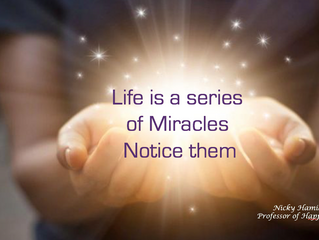 Be Open for Miracles