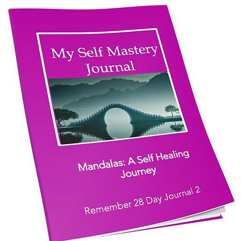 Mandalas: A Self Healing Journey. - Journal: Volume 2