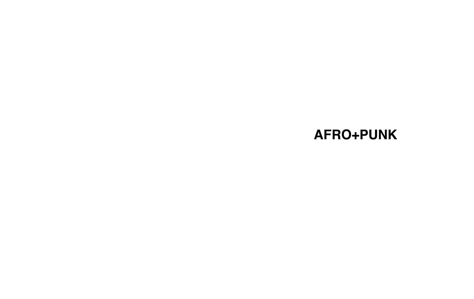 AFRO+PUNK