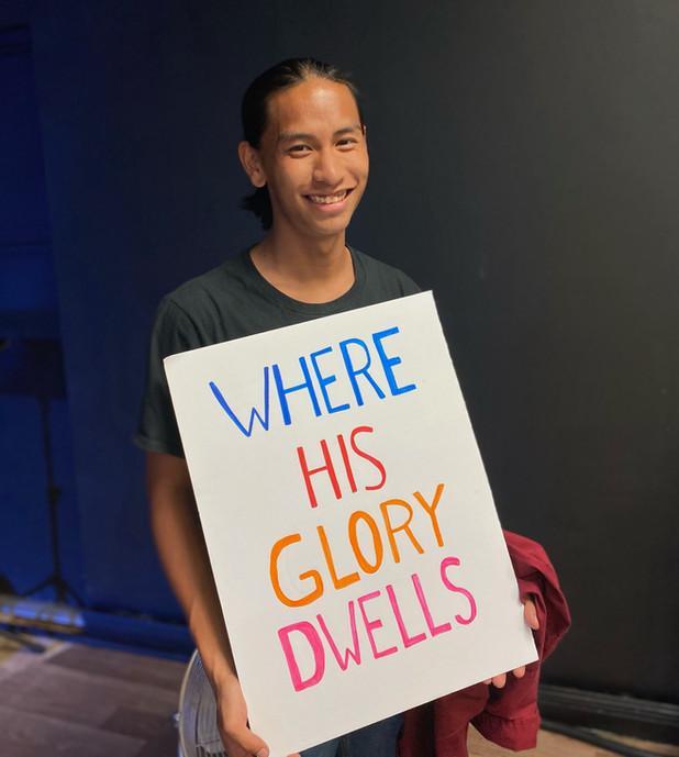 Where His Glory Dwells
