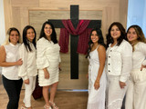 Ladies at our Resurrection service