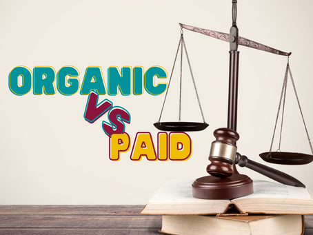 Organic vs paid traffic...which is better